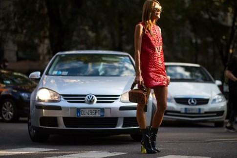 Rạo rực vì đường phố Milan khi vào mùa thời trang
