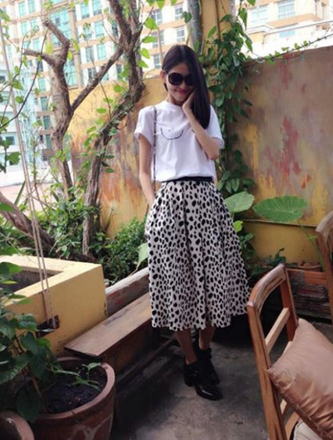 "Style nhi nhanh cua ""Kate Moss phien ban Viet"""