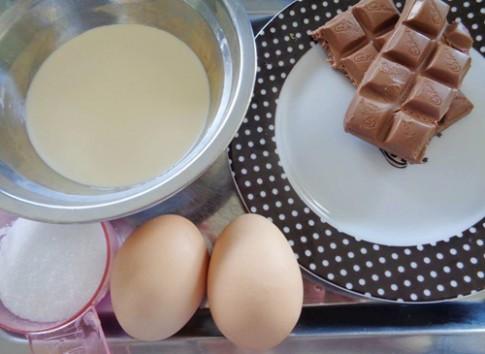 Tráng miệng tuyệt với với chocolate mousse