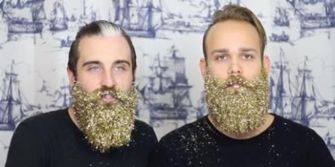 Trào lưu khó đỡ trên Instagram: Các quý ông để râu lấp lánh