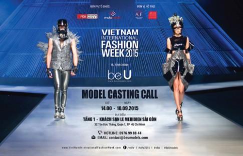 Tuan le Thoi trang Quoc te Viet Nam 2015 khoi dong