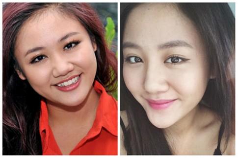 Van Mai Huong bat ngo xinh dep voi chiec mui la