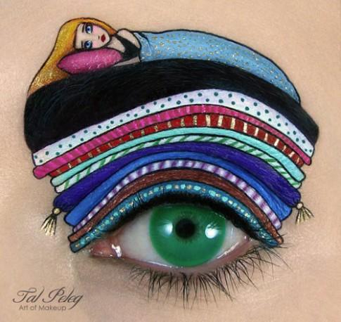 Chiêm ngưỡng tuyệt tác vẽ mắt đỉnh cao của nghệ sỹ trang điểm