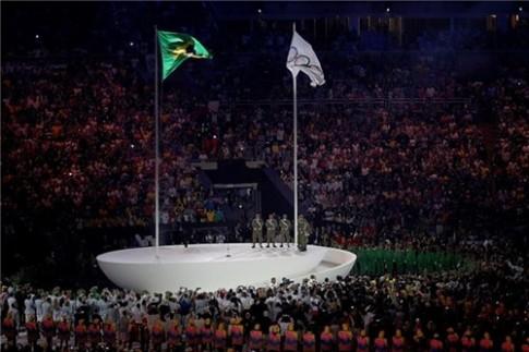 Nhung khoanh khac dang nho nhat trong le khai mac Rio 2016