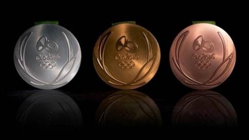 Quy trinh san xuat ki cong nhung tam huy chuong Olympics Rio 2016