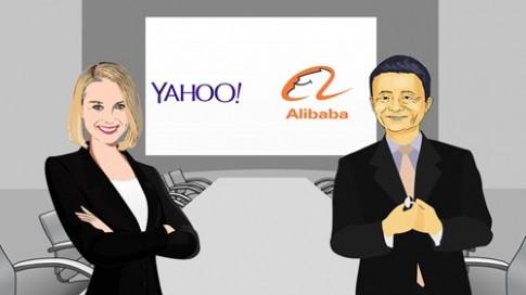 Sao yahoo! khong ban co phan Alibaba ?