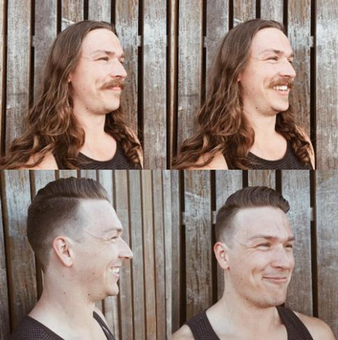 10 trai đẹp chứng tỏ sự khác biệt hoàn toàn sau khi cạo râu