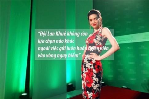 """14 phat ngon cuc """"chat"""" cua bo ba huan luyen vien The Face o tap 9"""