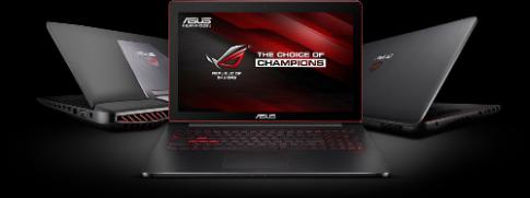 5 tien ich tren laptop cho game thu Asus ROG GL552JX