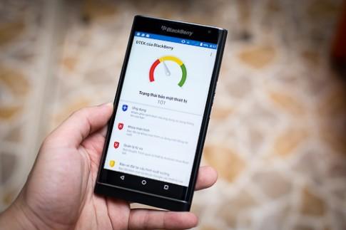 BlackBerry chan loi bao mat tren smartphone Android