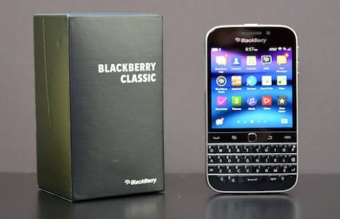 BlackBerry ngung san xuat dien thoai Classic