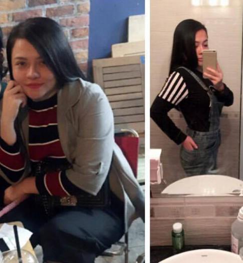 Co gai Viet giam 17kg trong 1,5 thang gay xon xao