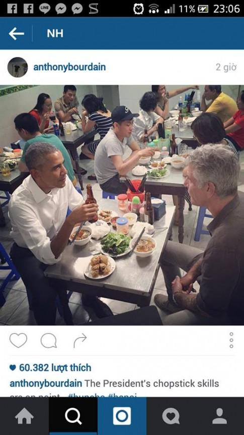 """Con sot """"Bun cha Obama"""" lan sang Singapore, ban dat gap doi ban goc"""