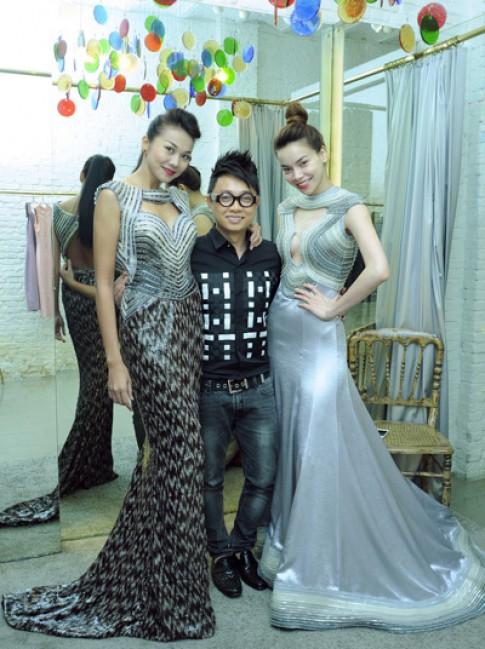 Cong Tri dua Ha Ho tro lai catwalk