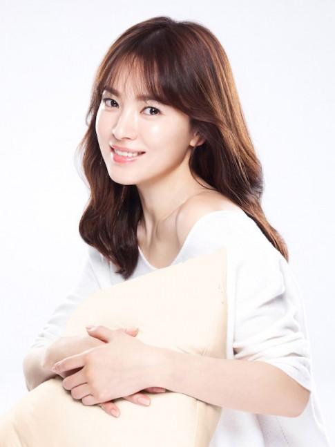 De toc mai thua dep nhu Song Hye Kyo