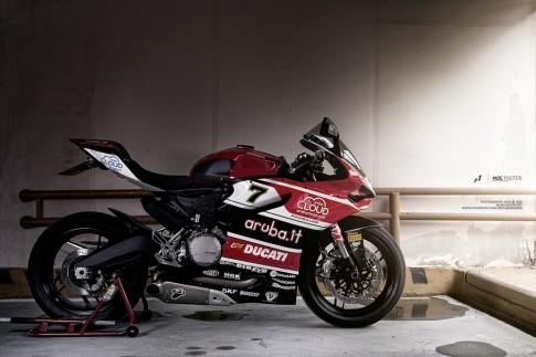 Ducati 899 Panigale do tem dau qua goc anh cua tay choi Nhat