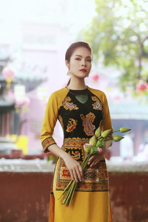"""Duong Cam Lynh: """"Ao dai la niem tu hao trong nhung nam du hoc"""""""
