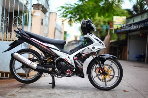 Exciter 135 chien ma manh me di cung toc do