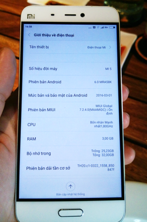 FPT Trading phan phoi Xiaomi Mi5 tai Viet Nam