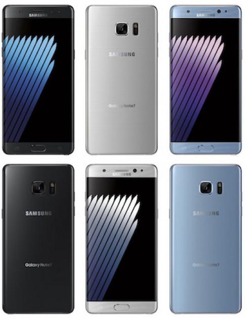 Galaxy Note 7 man hinh cong lo dien voi ba mau