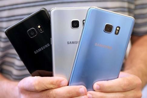 Galaxy Note 7 pha ky luc dat hang cua Galaxy S7