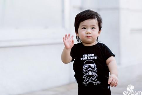 """Gặp fashionista 1 tuổi Sài Gòn có lượng fan """"khủng"""""""