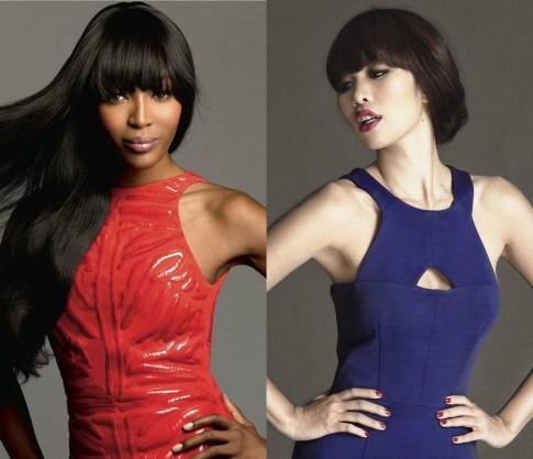 Hà Anh được ví như Naomi Campbell vì cao, da nâu