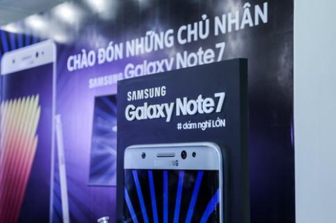 Hang nghin chiec Galaxy Note7 da co chu