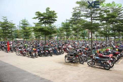 Hinh anh bai do xe ken day toan xe may 67, Min-kho, Honda CD