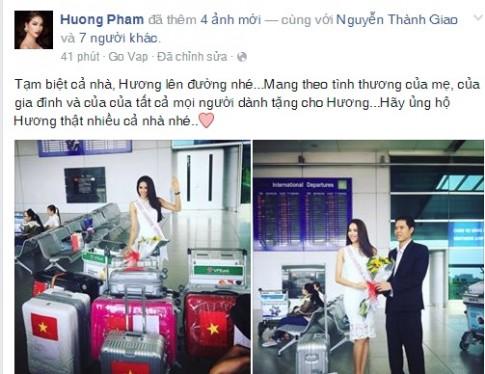 Ho Ngoc Ha chuc Pham Huong may man tai HHHV 2015