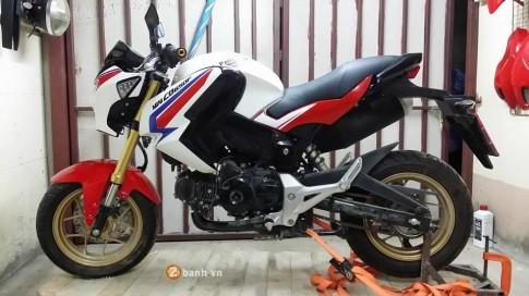 Honda CB650F phien ban minibike day doc dao