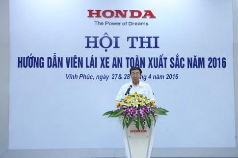 Honda to chuc cuoc thi Huong dan vien Lai xe an toan xuat sac nam 2016