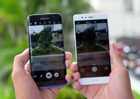 Huawei P9 do camera giau mat voi Galaxy S7 edge