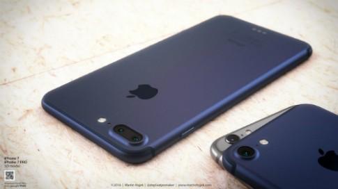 iPhone 7 se co mau den moi va mau xanh duong