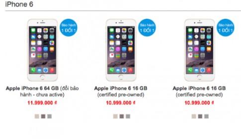 iPhone, iPad 'tan trang' tran ngap thi truong Viet