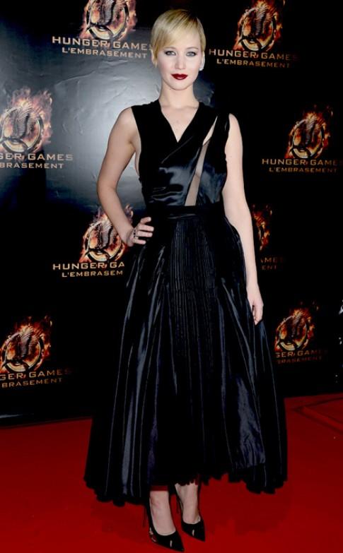 Jennifer Lawrence la ngoi sao tham do tuan qua