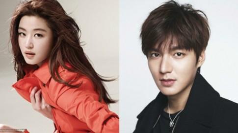 """Jeon Ji Hyun """"cap ke"""" Lee Min Ho, day gia ban phim len troi"""