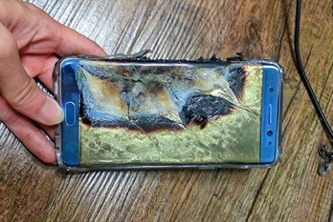 Ket luan ban dau nguyen nhan Galaxy Note 7 chay no