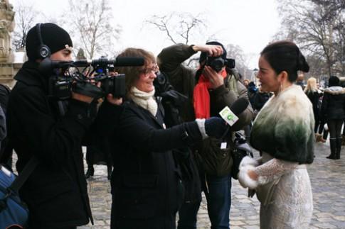 Ly Nha Ky sang Paris du show Chanel