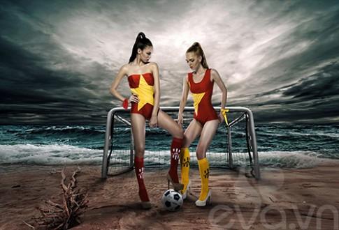 Mau ngoai dien ao tam co Viet 'tiep lua' World Cup