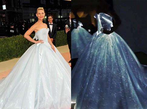 """Met Gala 2016: Xuất hiện nàng """"Lọ Lem"""" mặc váy phát sáng"""