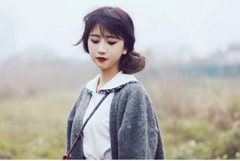 Muon van kieu make-up Vintage dep nhu mo cua Quynh Anh Shyn