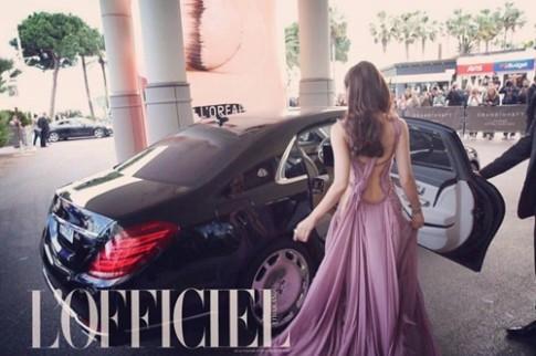"""Mỹ nhân Thái Lan """"lấn át"""" dàn sao Châu Á tại Cannes"""