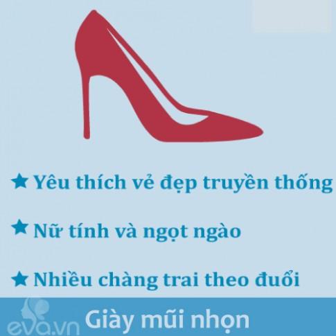 Ngắm giày, đọc tính cách nàng một phát chuẩn ngay!