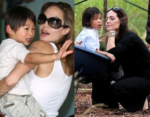 """O voi me Jolie, thoi trang cua Pax Thien """"9 nam van khong doi"""""""