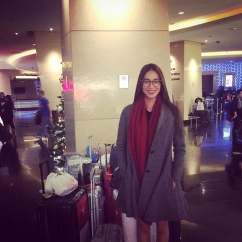 Phạm Hương chỉ còn 50kg sau khi thi Miss Universe