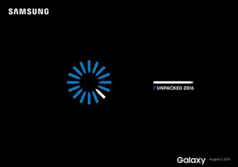Samsung Galaxy Note 7 duoc trinh lang tai My toi nay