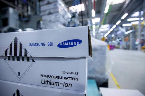 Samsung ngung nhap pin Galaxy Note 7 tu cong ty con
