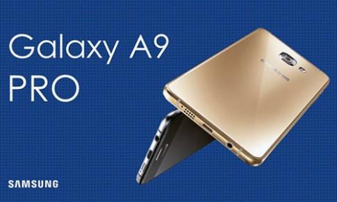 Samsung ra Galaxy A9 Pro man hinh 6 inch, pin dung 3 ngay