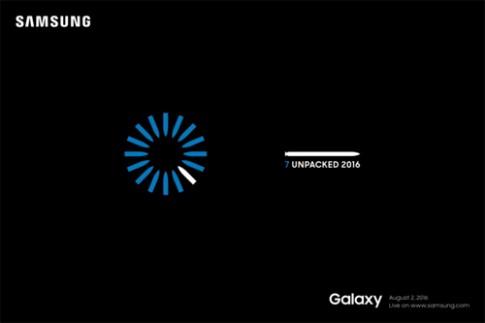 Samsung xac nhan ten goi Galaxy Note 7, ra mat ngay 2/8